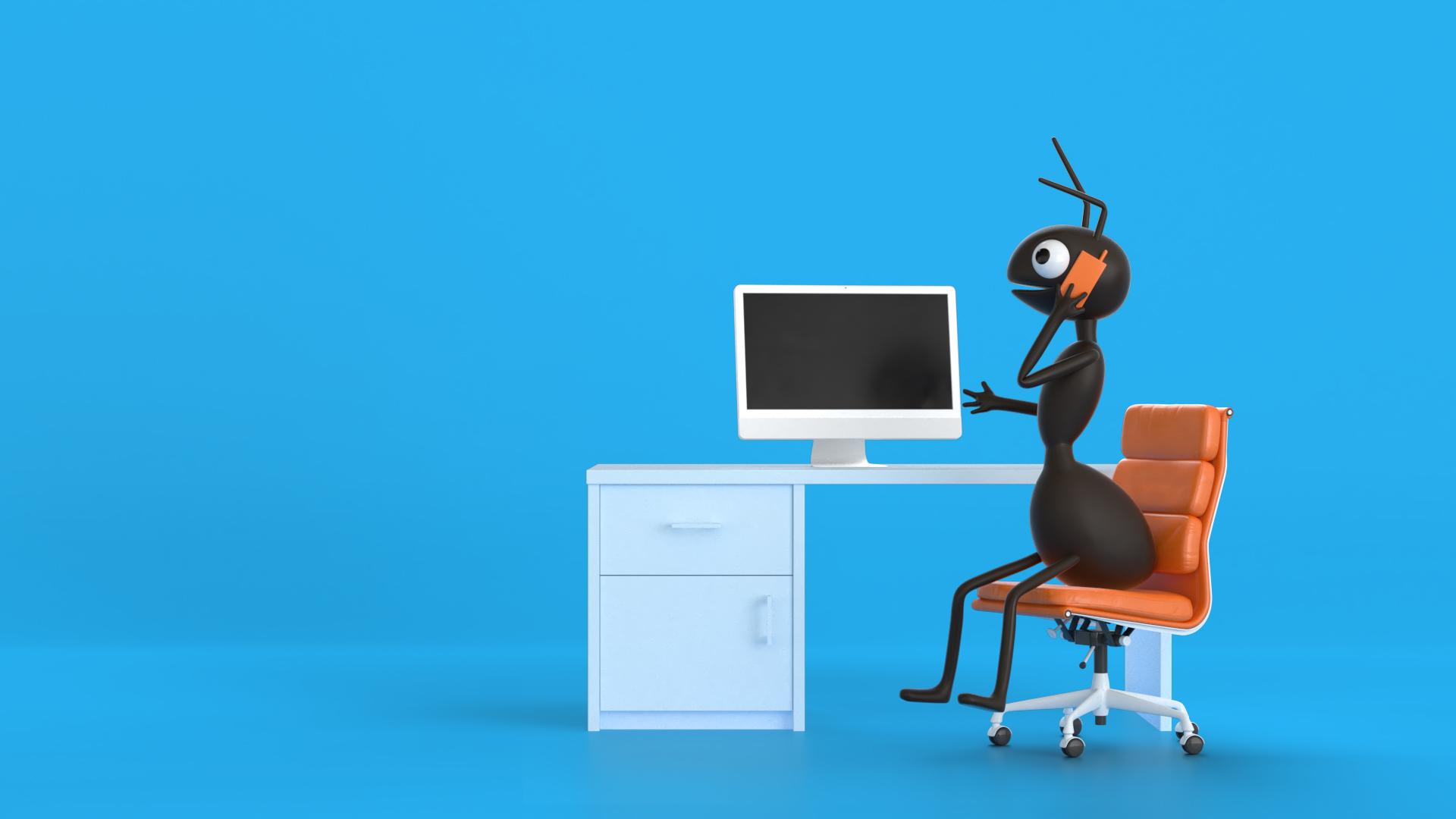 Active ants visual #01